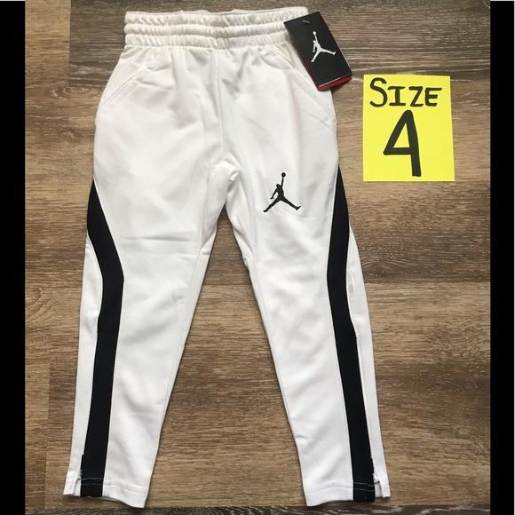 9fc68a690b5e Jordan Bottoms | Nwt Boys White Pants Size 4 | Poshmark